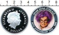 Изображение Монеты Австралия 1 доллар 2006 Серебро Proof 50 лет Дама Эдна Эве