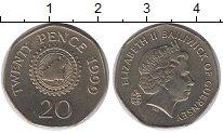 Изображение Монеты Гернси 20 пенсов 1999 Медно-никель UNC-