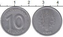 Изображение Монеты ГДР 10 пфеннигов 1948 Алюминий XF