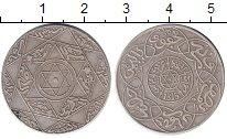 Изображение Монеты Африка Марокко 1/4 реала 1897 Серебро XF