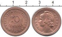 Изображение Монеты Африка Кабо-Верде 10 сентаво 1930 Медь UNC-