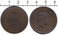 Изображение Монеты Португальская Индия 1/2 таньга 1903 Медь XF
