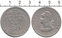 Изображение Монеты Сан-Томе и Принсипи 50 сентаво 1929 Серебро XF