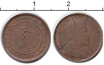 Изображение Монеты Цейлон 1 цент 1905 Медь UNC- Эдуард VII