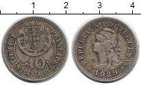 Изображение Монеты Африка Сан-Томе и Принсипи 10 сентаво 1929 Медно-никель XF