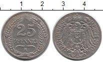 Изображение Монеты Германия 25 пфеннигов 1910 Медно-никель UNC-
