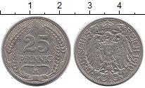 Изображение Монеты Европа Германия 25 пфеннигов 1910 Медно-никель UNC-