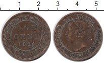 Изображение Монеты Канада 1 цент 1859 Медь VF Виктория