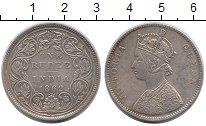 Изображение Монеты Азия Индия 1 рупия 1862 Серебро XF