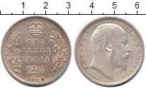 Изображение Монеты Азия Индия 1 рупия 1904 Серебро XF