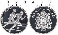 Изображение Монеты Малави 10 квач 1999 Серебро Proof