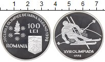 Изображение Монеты Румыния 100 лей 1998 Серебро Proof