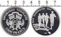 Изображение Монеты Африка Того 1000 франков 2003 Серебро Proof