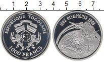 Изображение Монеты Африка Того 1000 франков 2007 Серебро Proof