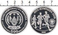 Изображение Монеты Руанда 500 франков 2006 Серебро Proof- Олимпийские игры, бе