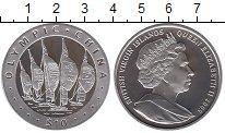Изображение Монеты Виргинские острова 10 долларов 2008 Серебро Proof Олимпийские игры, Па