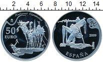 Изображение Монеты Европа Испания 50 евро 2009 Серебро Proof