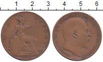 Изображение Монеты Великобритания 1 пенни 1908 Бронза VF