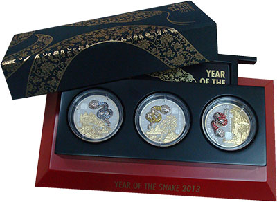 Изображение Подарочные монеты Африка Руанда 500 франков 2013 Серебро Proof