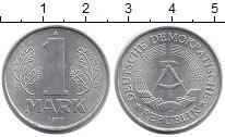 Изображение Мелочь ГДР 1 марка 1977 Алюминий UNC- А