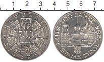 Изображение Монеты Австрия 500 шиллингов 1984 Серебро UNC