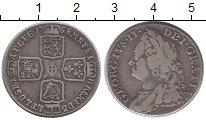 Изображение Монеты Великобритания 1 шиллинг 1758 Серебро XF- Георг II