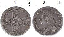 Изображение Монеты Европа Великобритания 6 пенсов 1758 Серебро XF-