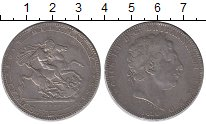 Изображение Монеты Великобритания 1 крона 1820 Серебро VF Георг III