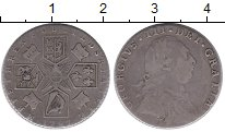 Изображение Монеты Великобритания 6 пенсов 1787 Серебро XF-