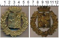 Изображение Монеты Италия Полицейский знак 0 Латунь XF-
