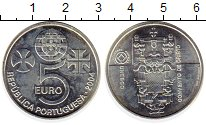 Изображение Монеты Португалия 5 евро 2004 Серебро UNC-