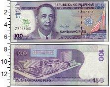 Изображение Банкноты Азия Филиппины 100 писо 2012  UNC