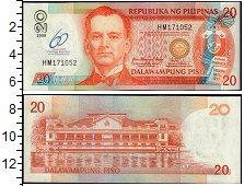 Изображение Банкноты Азия Филиппины 20 писо 2009  UNC