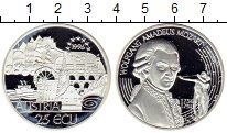 Изображение Монеты Европа Австрия 25 экю 2006 Серебро Proof-