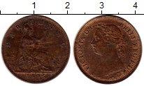 Изображение Монеты Великобритания 1 фартинг 1885 Бронза VF