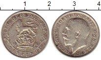 Изображение Монеты Европа Великобритания 6 пенсов 1916 Серебро XF