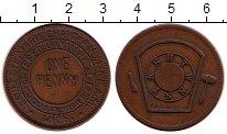 Изображение Монеты Северная Америка США 1 пенни 1891 Медь XF