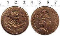 Изображение Монеты Гибралтар 5 фунтов 1997 Латунь UNC-