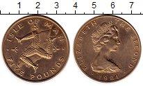 Изображение Монеты Остров Мэн 5 фунтов 1981 Латунь UNC-