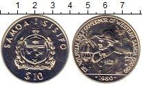 Изображение Монеты Австралия и Океания Самоа 10 долларов 1980 Серебро UNC