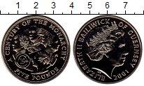 Изображение Монеты Гернси 5 фунтов 2001 Медно-никель UNC Век монархии, Елизав