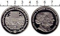 Изображение Монеты Сендвичевы острова 2 фунта 2007 Серебро Proof