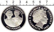 Изображение Монеты Великобритания Гернси 5 фунтов 2007 Серебро Proof