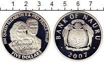 Изображение Монеты Австралия и Океания Науру 5 долларов 2007 Серебро Proof