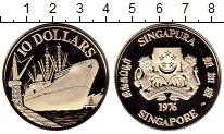 Изображение Монеты Азия Сингапур 10 долларов 1976 Серебро Proof