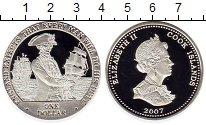 Изображение Монеты Острова Кука 1 доллар 2007 Серебро Proof 28,28 грамм.. Адмира
