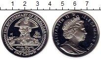 Изображение Монеты Великобритания Остров Мэн 1 крона 2005 Серебро Proof
