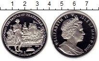 Изображение Монеты Остров Мэн 1 крона 2006 Серебро Proof Трафальгарскойая бит