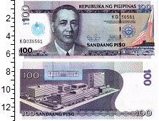 Изображение Банкноты Филиппины 100 писо 2013  UNC 100 лет Церкви Христ
