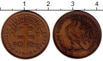 Изображение Монеты Франция Французская Экваториальная Африка 50 сантим 1948 Бронза XF